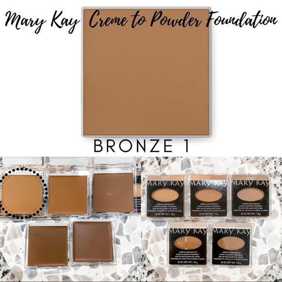 Mary Kay Creme to Powder Foundation In Bronze 1